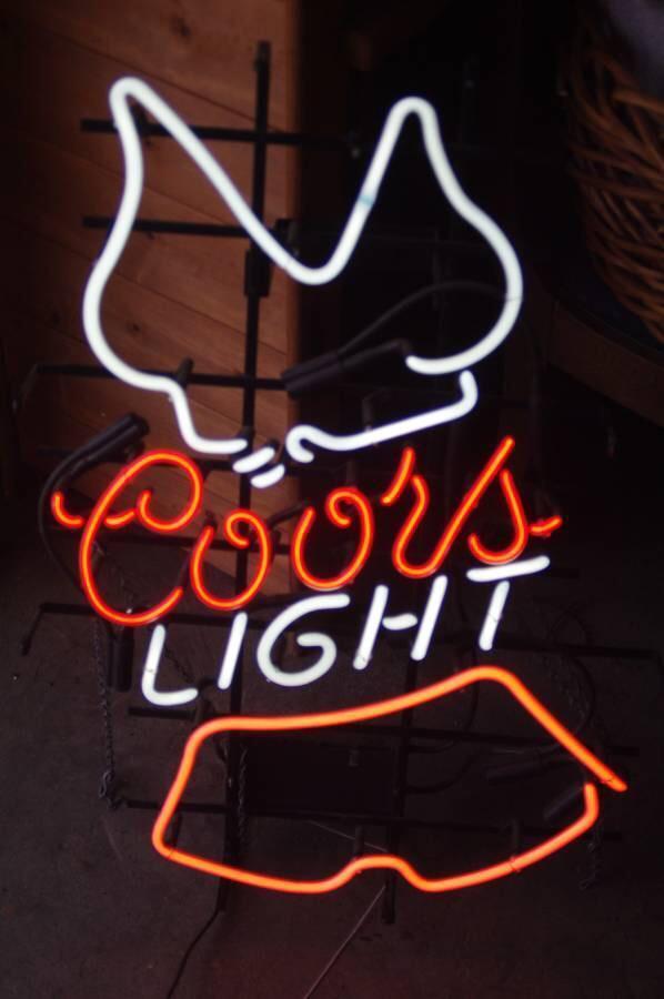 Coors Light Neon Sign Tube Neon Light – DIY Neon Signs