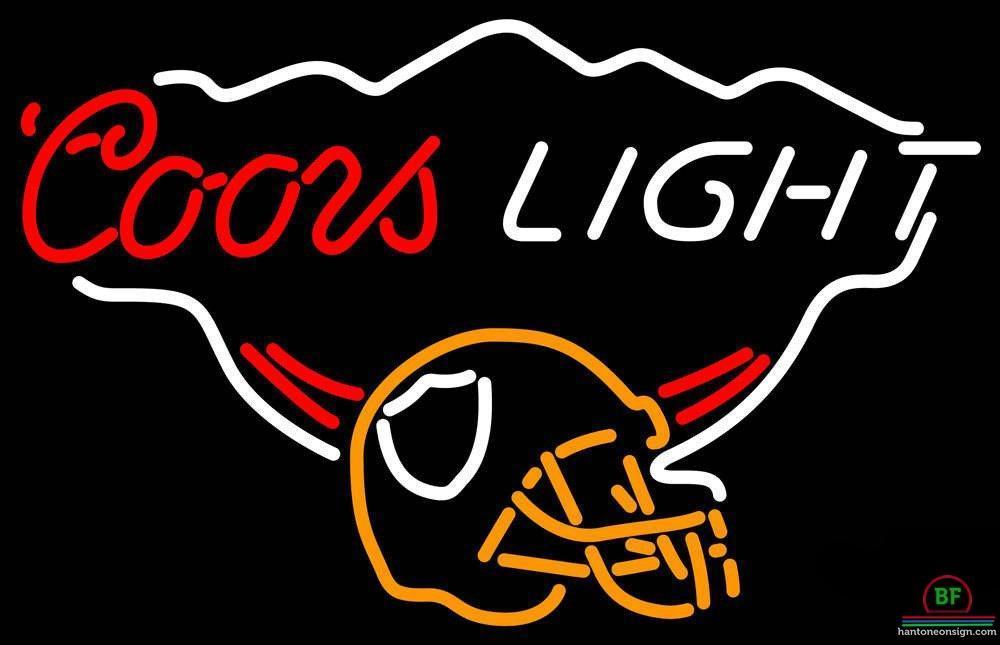 Coors Light Oakland Raiders Neon Sign NFL Teams Neon Light