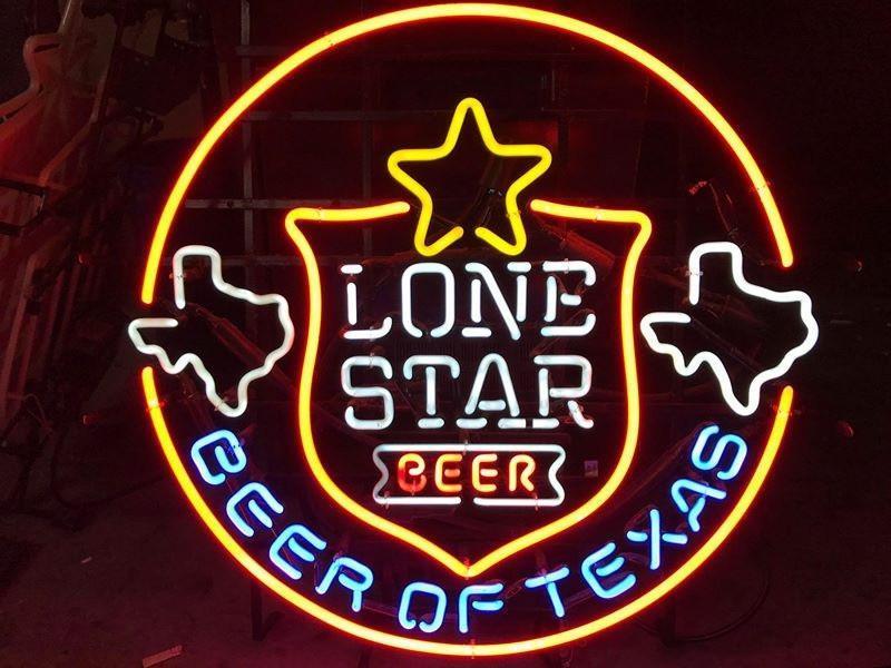 Lone Star Beer Of Texas Neon Sign Real Neon Light – DIY