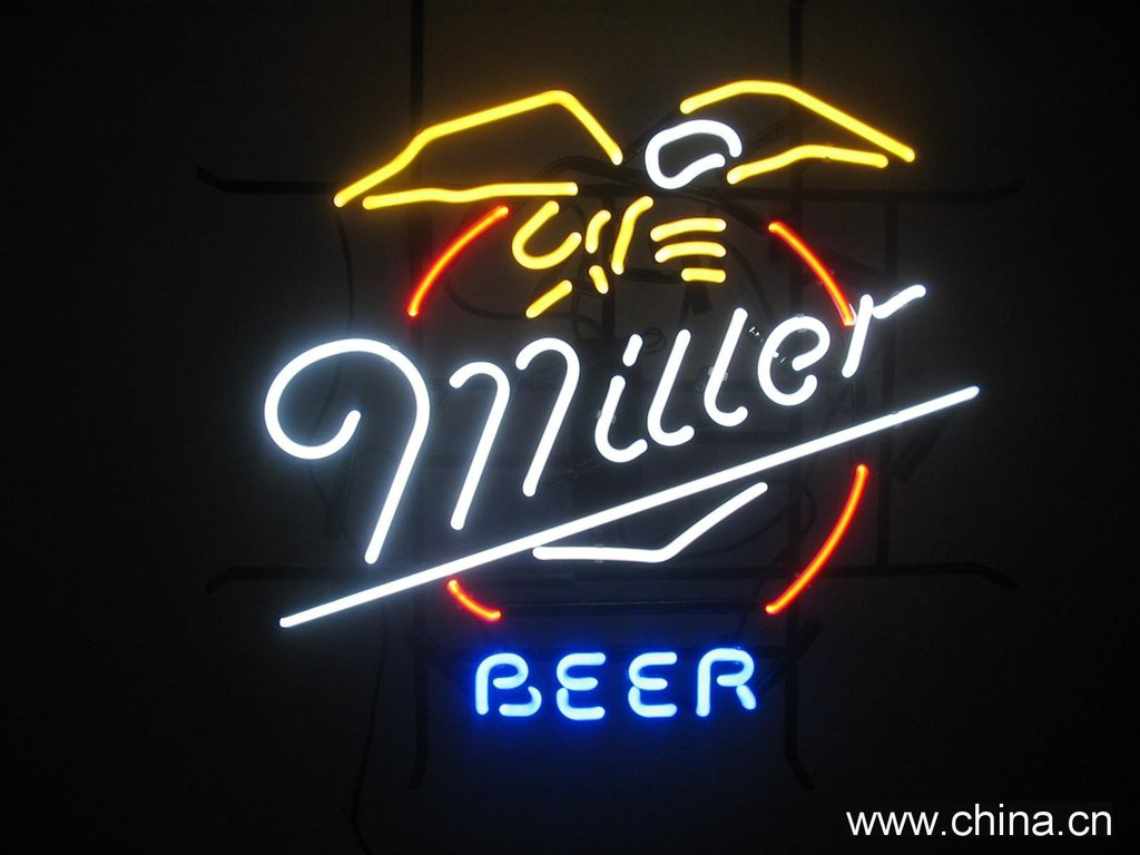 Miller Beer Neon Sign – DIY Neon Signs – Neon Signs US