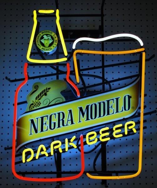 Negra Modelo Dark Beer Neon Sign Real Neon Light Z1322