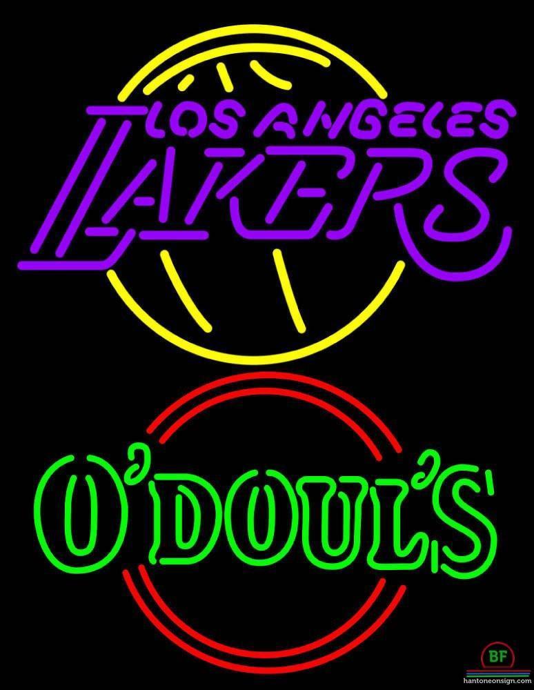 Odouls Los Angeles Lakers Neon Sign NBA Teams Neon Light – DIY Neon ...