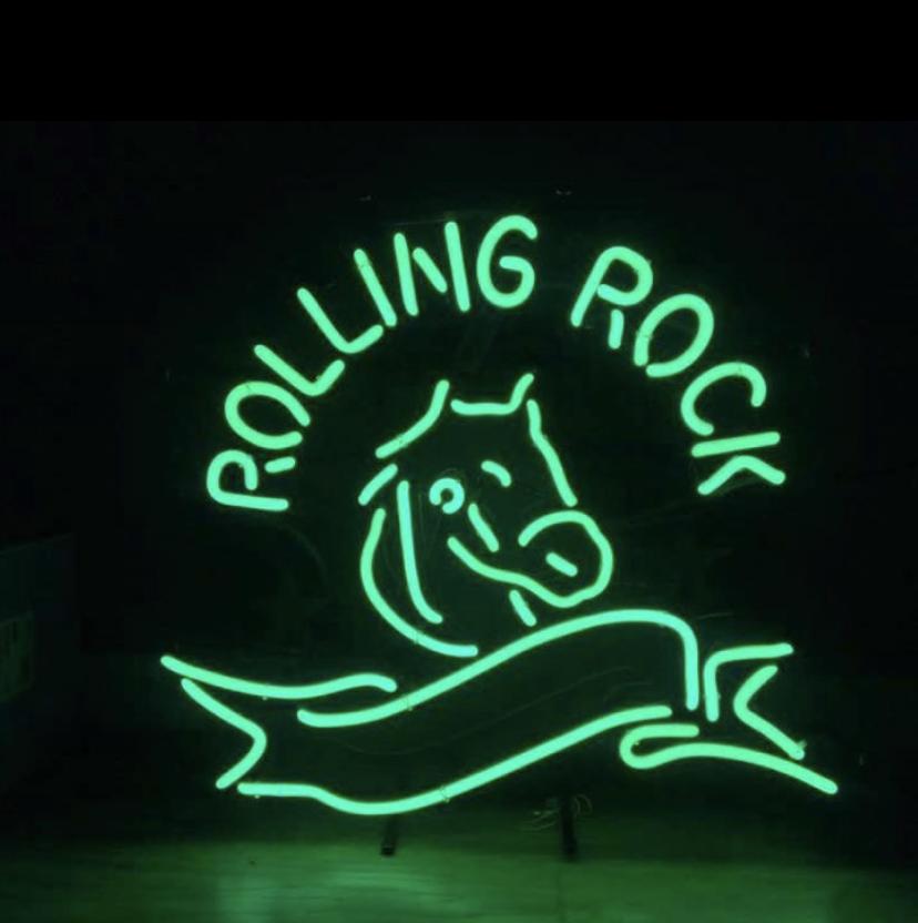 Rolling Rock Neon Sign Tube Neon Light – DIY Neon Signs