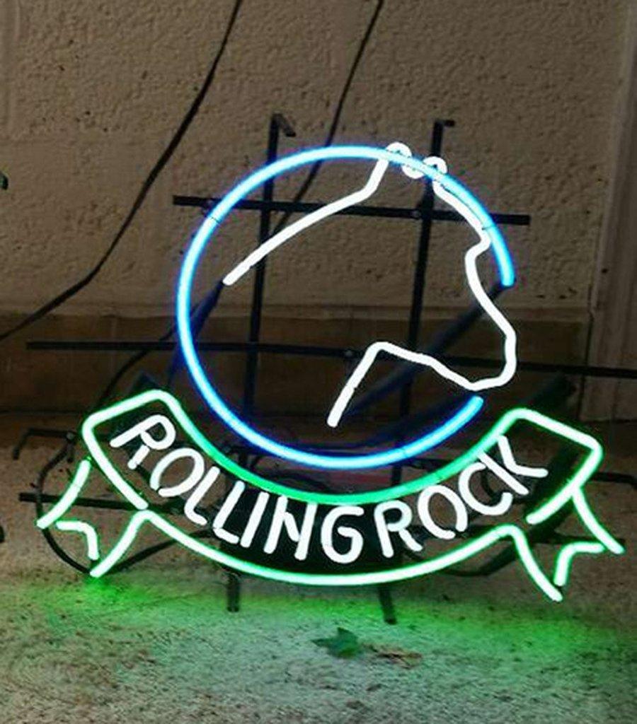 Rolling Rock Neon Sign Real Neon Light Z1285 – DIY Neon