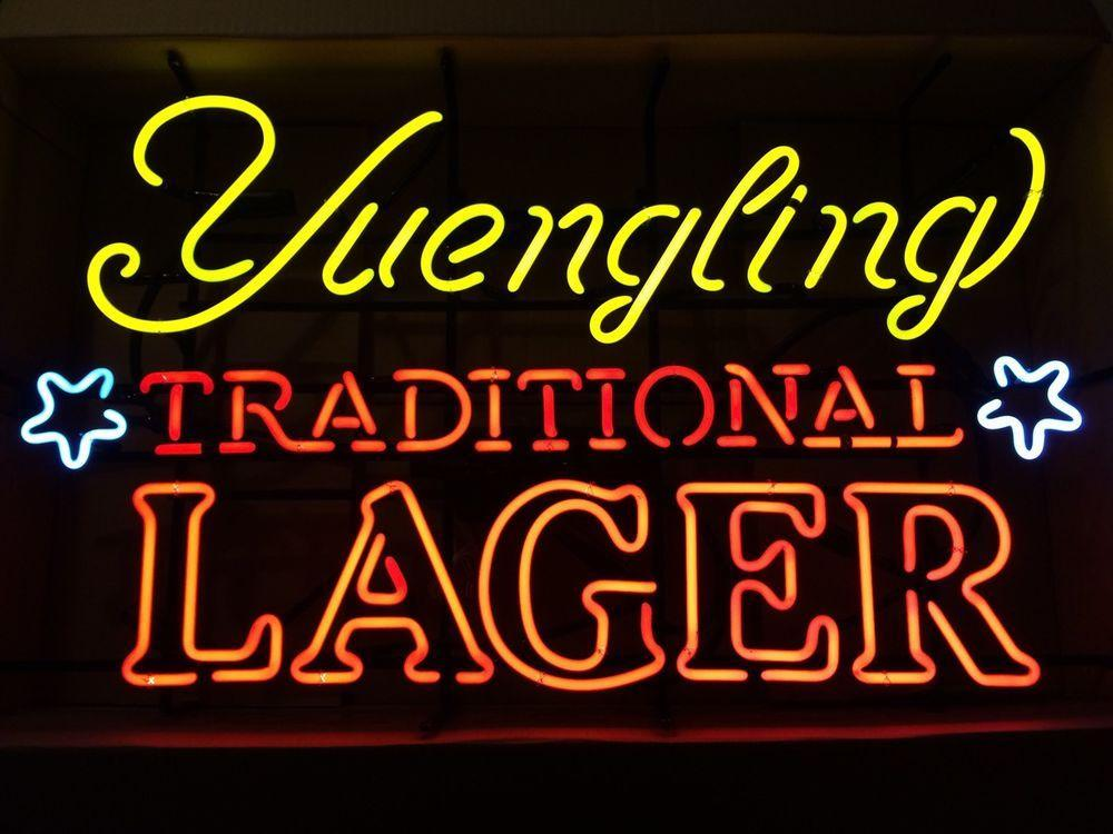 Yuengling Traditional Lager Neon Sign Tube Neon Light