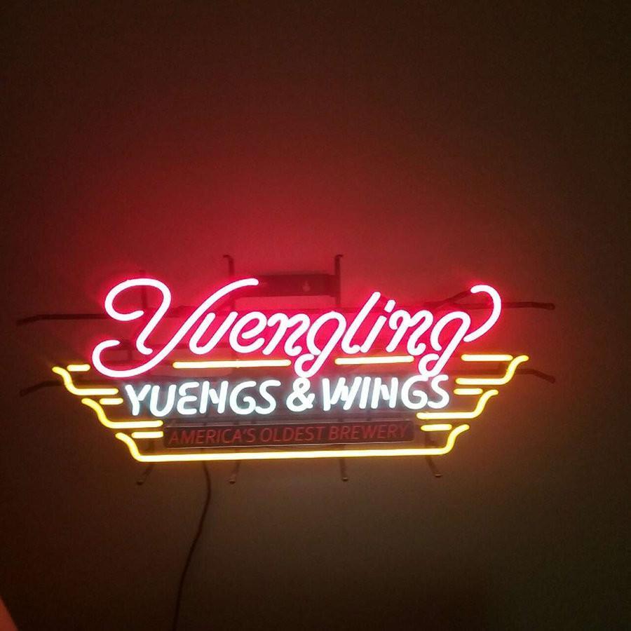Yuengling Yuengs Wings Neon Sign Real Neon Light Z1379