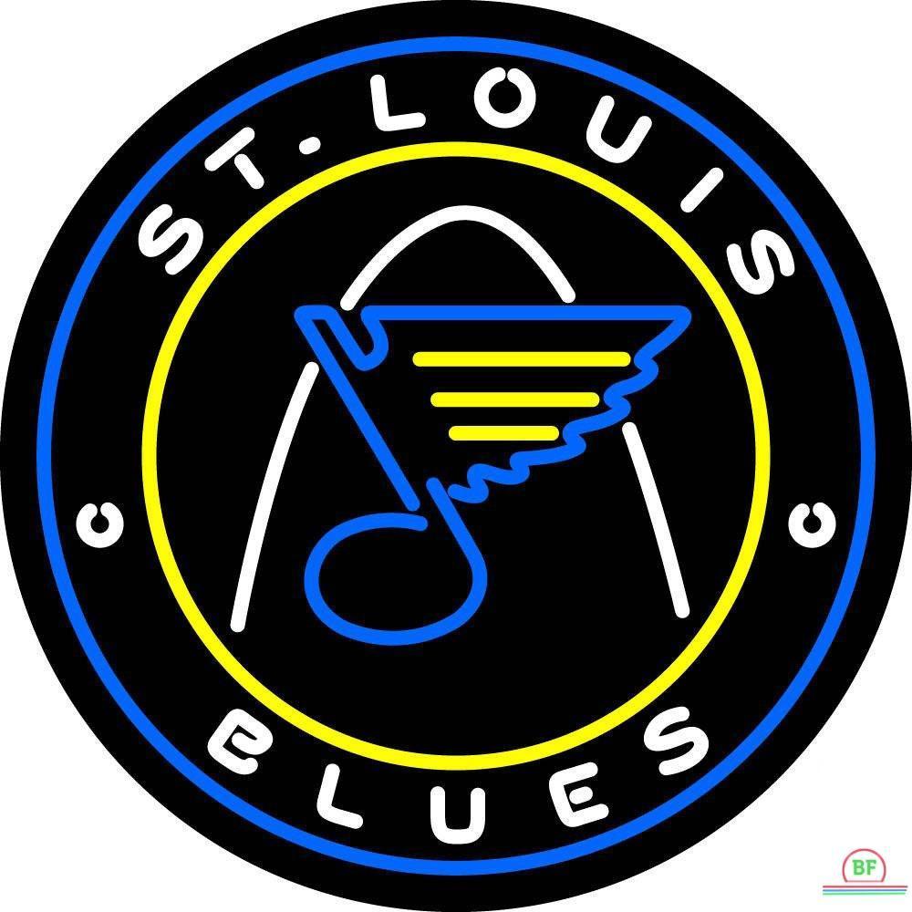 Louis Blues Sign St