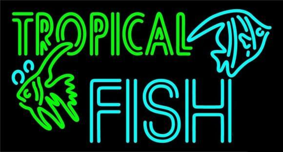 Tropical Fish Neon Sign Real Neon Light – DIY Neon Signs ... - photo#20