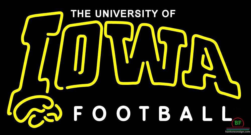 Iowa Hawkeyes Neon Sign NCAA Teams Neon Light – DIY Neon