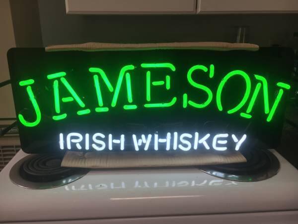 Jameson Irish Whiskey Neon Sign Real Neon Light – DIY Neon